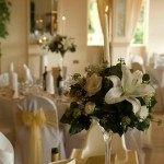 manor table flowers